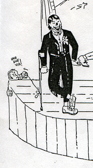 Enrico ha disegnato caricature per Eddy Brisky