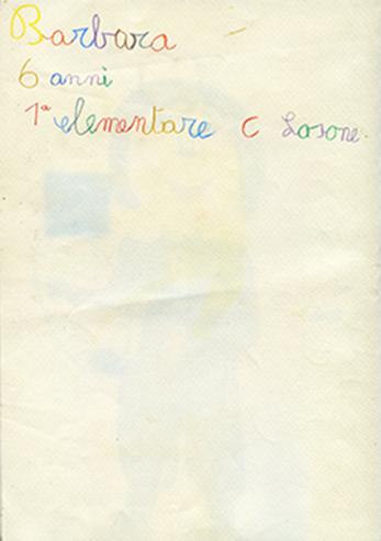 Barbara 6 anni 1a elementare C Losone