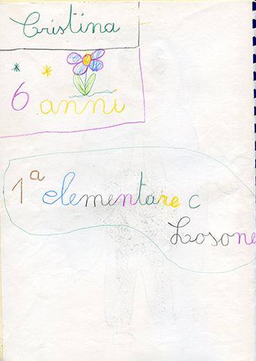Cristina 6 anni 1a elementare C Losone CH