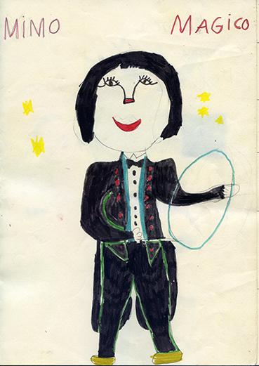 Disegno di Barbara 6 anni 1a elementare C Losone
