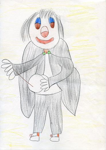 Disegno di Cristina 6 anni 1a elementare C Losone